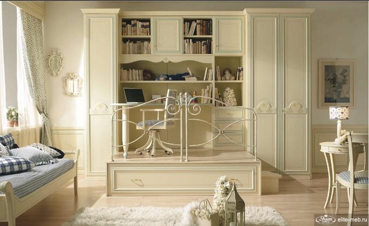 FERRETTI&FERRETTI, коллекция HAPPY NIGHT - я в восторге от идеи кабинета для ребенка!