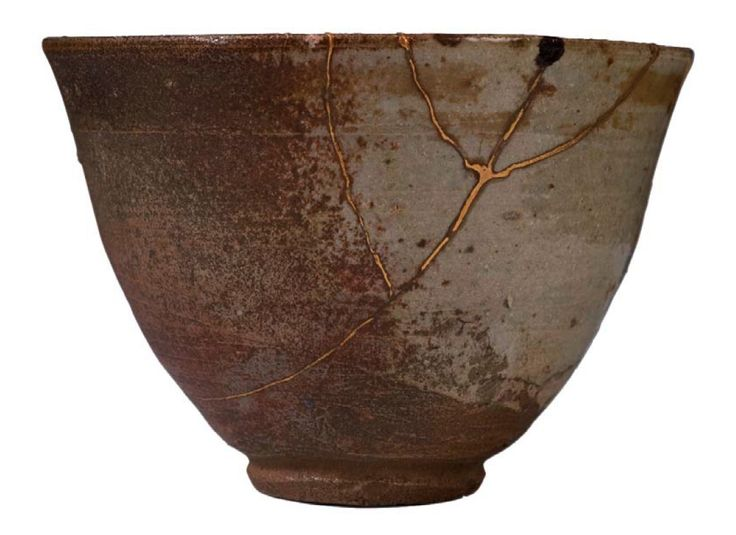 Kintsugi is the Japanese wabi-sabi art form that involves repairing broken pottery with lacquer, and sometimes even with gold. So if you've broken something ceramic that you truly love, despair not - it can be restored, and made even more beautiful.