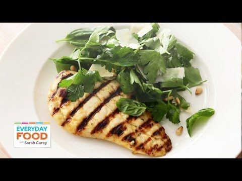Lemon Chicken with Herb Salad - Everyday Food with Sarah Carey - YouTube