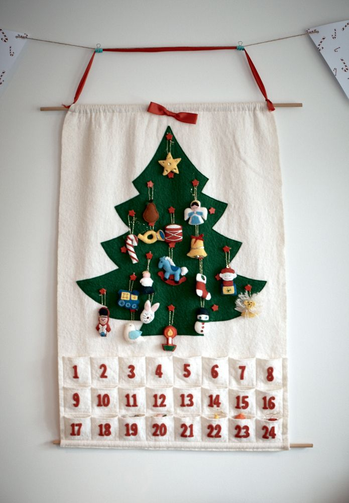 crafty ornamental advent calendar
