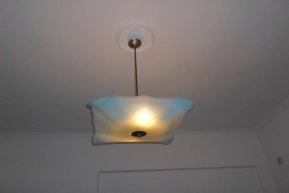 vintage ceiling lamp 1960's