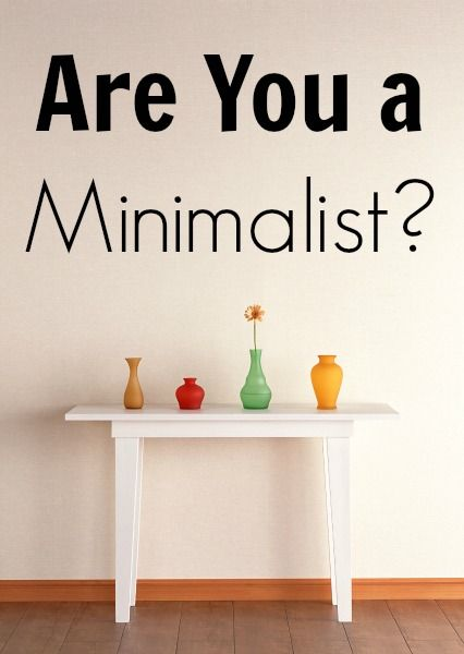 Are you a minimalist what it is and an intervju with for Minimalist living money