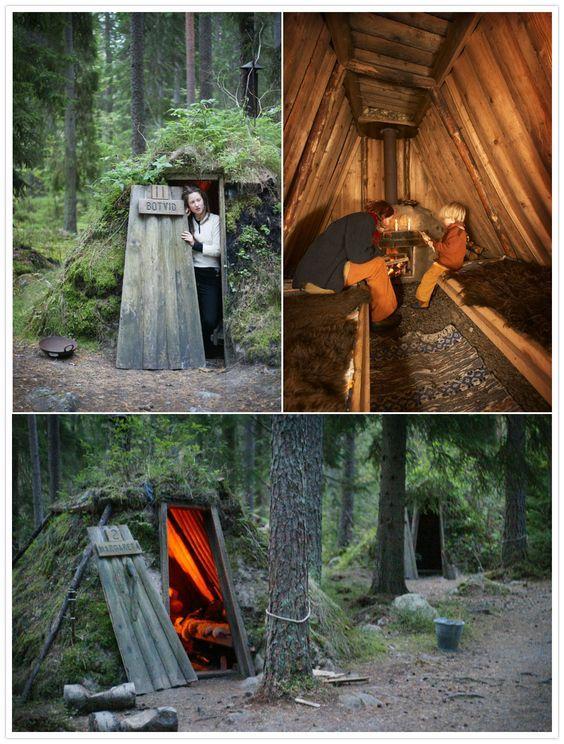 #秘密基地 #tent #camp #キャンプ #diy(Via: Gaelan Cormier )かっこいい!キャンプ場にあるといいかも!テントのペグピンにペグピンProを!