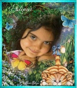 Artist will create one of a kind photo collage from your photo. Choose from fairies, sea life, superheros, flowers,  cats, newborn, birthday etc. Include a name or text if desired.