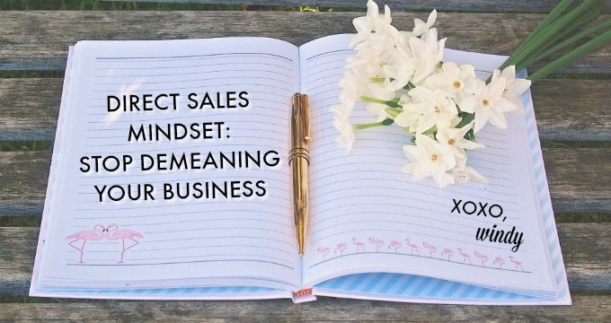 Why I stopped being ashamed of my direct sales career and changed my mindset.