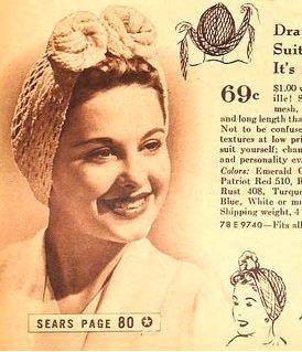 How to look glamorous in between vintage hair settings..... cool website on vintage hair