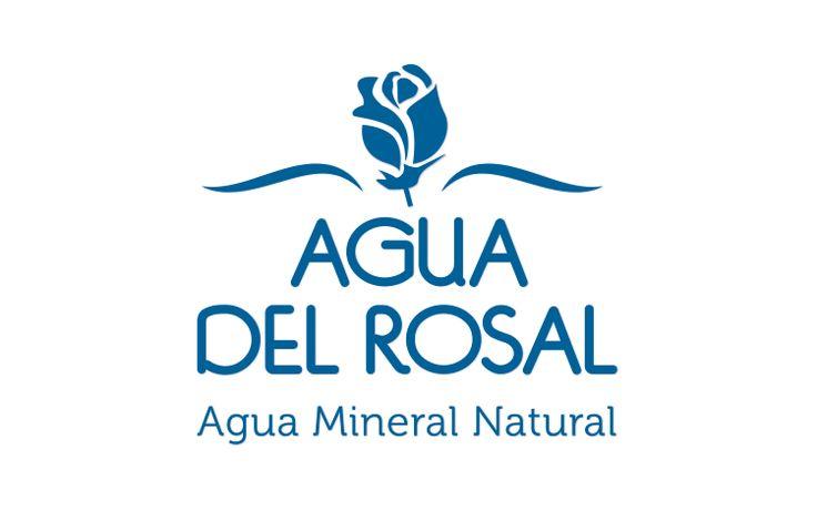 Creación del logotipo Agua del Rosal en el estudio de diseño gráfico de Madrid LN Creatividad y Tecnología