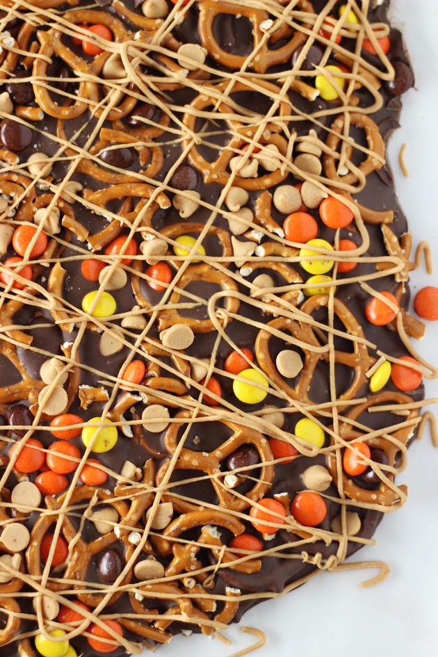 Chocolate Peanut Butter Pretzel Bark is the homemade candy everyone will love. You've got every flavor covered!