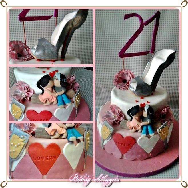 lovers cake :-) https://www.facebook.com/BubajSutigyar