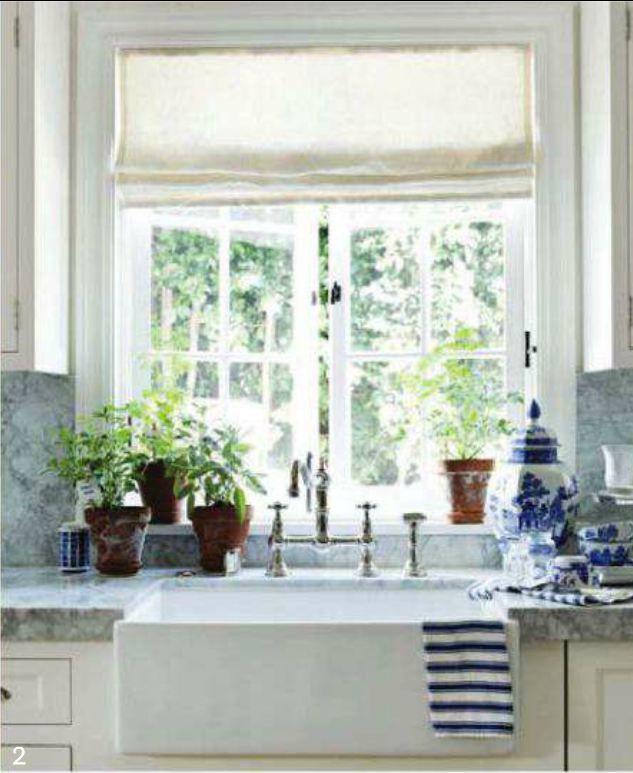 Kitchen Sink Bay Window: 258 Best Roman Shades Images On Pinterest