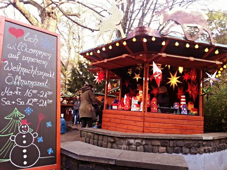 #Weihnachtsmarkt #Stadtgarten #Köln