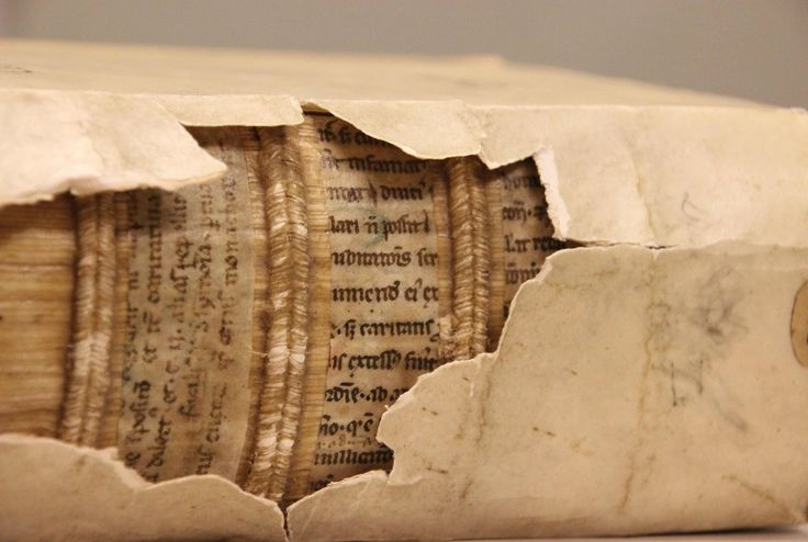 Researchers are uncovering fragments of medieval texts used in early book binding