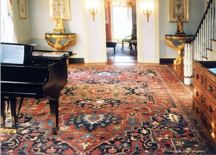 majestic rugs for living room.  Jeffersonian era colonial residence this grand oversize Serapi carpet adorns a large vestibule giving an unobstructed view of its majestic design and 99 best Interior Design Tuesday images on Pinterest Home decor