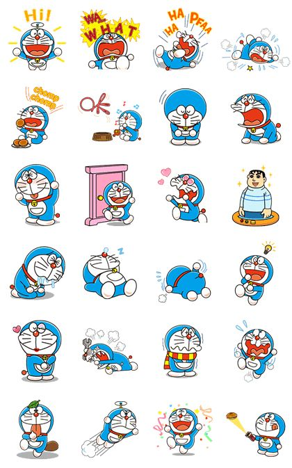 Doraemon Animated Stickers - LINE Stickers