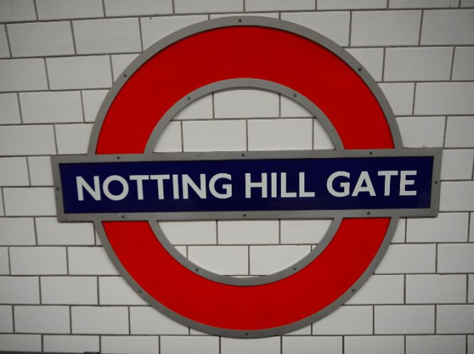 notting hill gate, notting hill, the tube, london underground, london tube…