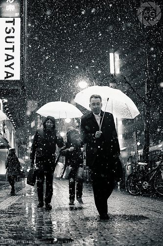 Shibuya :these people think I'm nuts, and they might very well be right :-) by Alfie|