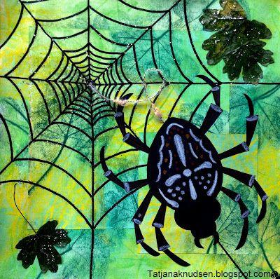 Edderkopper i hækken