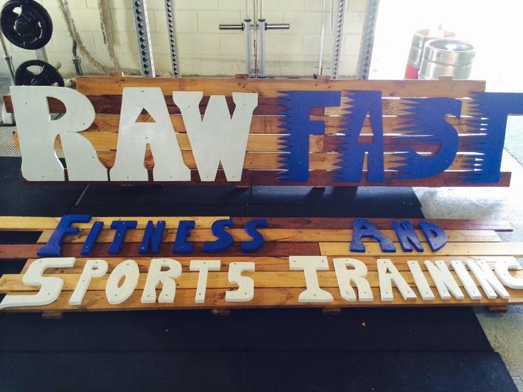 Recycled Timber business logo measuring 3m x 2m large. Custom orders welcome