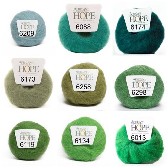 Mohair yarn crochet yarn knitting yarn weaving yarn lace