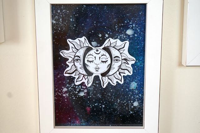 How to make Moon & Sun Wall Illustrations DIY DecoART