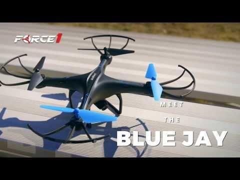 U45W Blue Jay Drone with Camera Test Flight + 20% Discount - YouTube