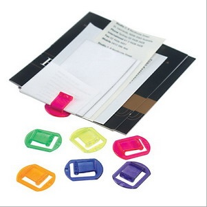 Marbig Hot Clips Multi Coloured Alternative To Paper Clips