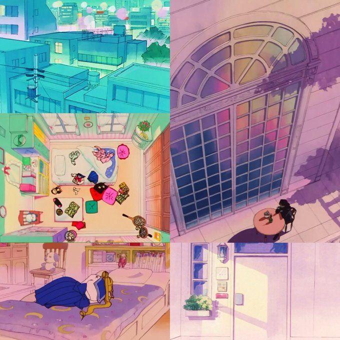 90年代に放送されていたセーラームーンの背景が芸術的で美しい - Togetterまとめ