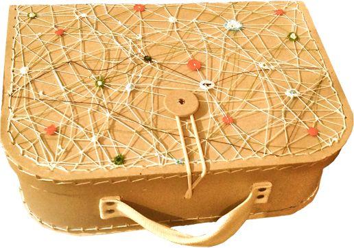 vyháčkovaný školní kufřík manekeen