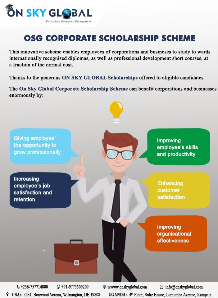 Osg Corporate Scholarship Scheme Learn More At Onskyglobal With