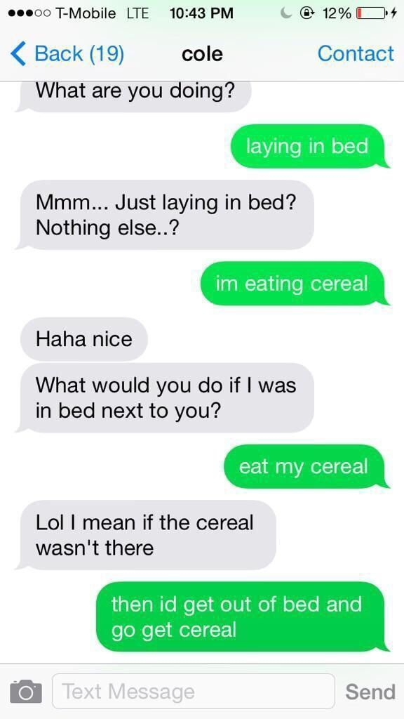 How to respond to unwanted sexting