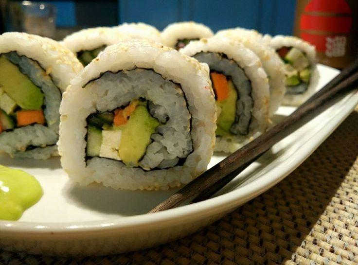 Avokadove-sushi