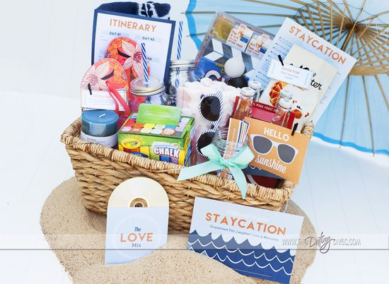 Staycation Printable Kit Easy Ideas for Fun at HOME