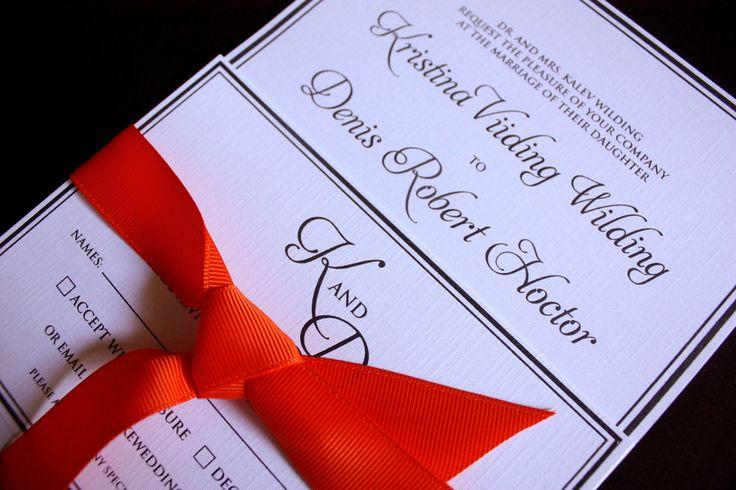 Thermal Printed Wedding Invitations on The Loop © Anne Nicholson
