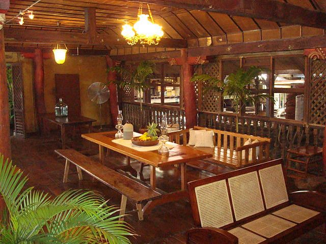 """The relatively new structure (American era?) at the back portion of the Jesuit House,  that served as the dining and study area. Adjoining this is the kitchen. This must be the """"Club X"""" of Conching Gantuangco Briones' Old Parian."""