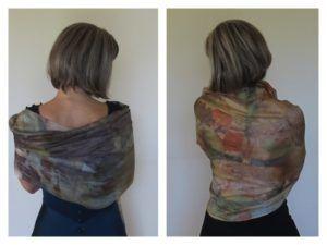 Видеокурс по окрашиванию шёлка  растительным материалом (эко-окрашивание) http://colorfeuille.plp7.ru/