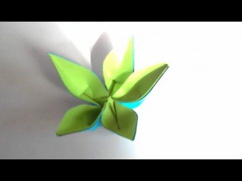 Origami Fleur de Pantin !