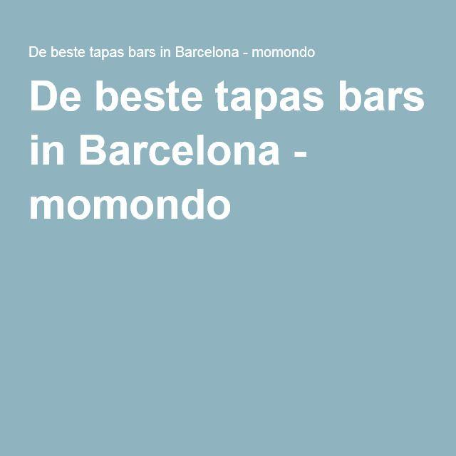 De beste tapas bars in Barcelona - momondo
