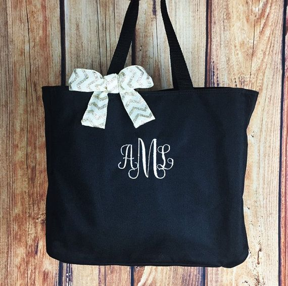 Tote Bag / Monogram Tote / Tote/  Personalized by SimplyNameIt