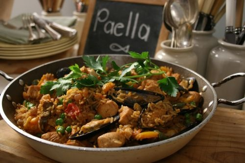 Cooking with SIBA - paella