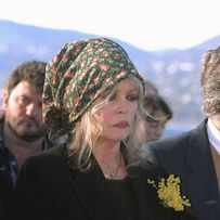 2000 : B.B aux obsèques de Roger Vadim