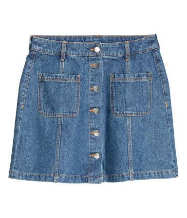 H&M skirt. July 2016
