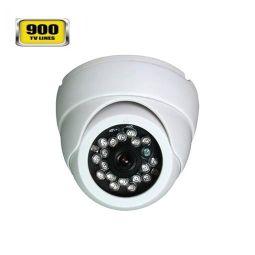 CAMWON+CDF-VA24P+Έγχρωμη+Dome+κάμερα+υπερύθρων+HD+900TVL+24+IR+Led+IP66Χαρακτηριστικά:  1/3CMOS+900TVL+PIXELPLUS+++with+IR-Cut+Filter+CMOS  24+IR¢5+mm+IR-LED+υψηλής+ισχύος++απόσταση+μέχρι+20+μέτρα++για+24-ωρη+παρακολούθηση+ημέρα+/+νύχτα+.  ΙΡ66.+0Lux(IR+LED+ON)  900+γραμμές  Εξαιρετικής++ποιότητας++κάμερα+με+3.6mm++  12V+DC.+Size:+¢94+x+69(H)+mm+  ΒΑΡΟΣ:+500gr  Στεγανότητα+IP66+Μεταλλική+  Δεν+περιλαμβάνεται+τροφοδοτικό  Βάση+για+εύκολη+τοποθέτηση+και+για+οροφή…