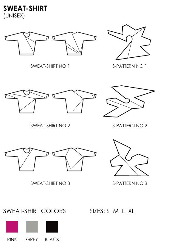 sweater new shapes - pattern