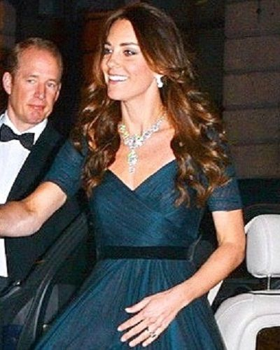 Kate in evening dress