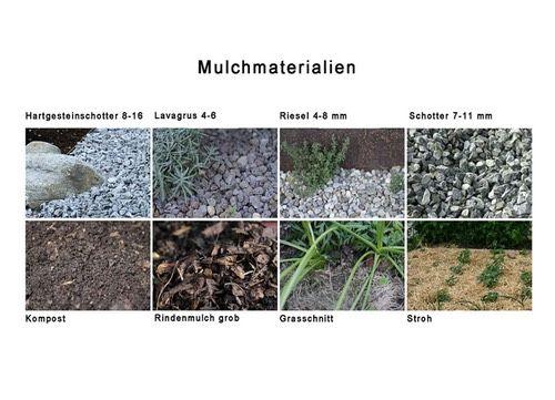 Mulch Material mulchen