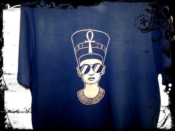 Nefertiti  S M L XL Plus Sizes Afrocentric Clothing by MindHarvest, $20.00