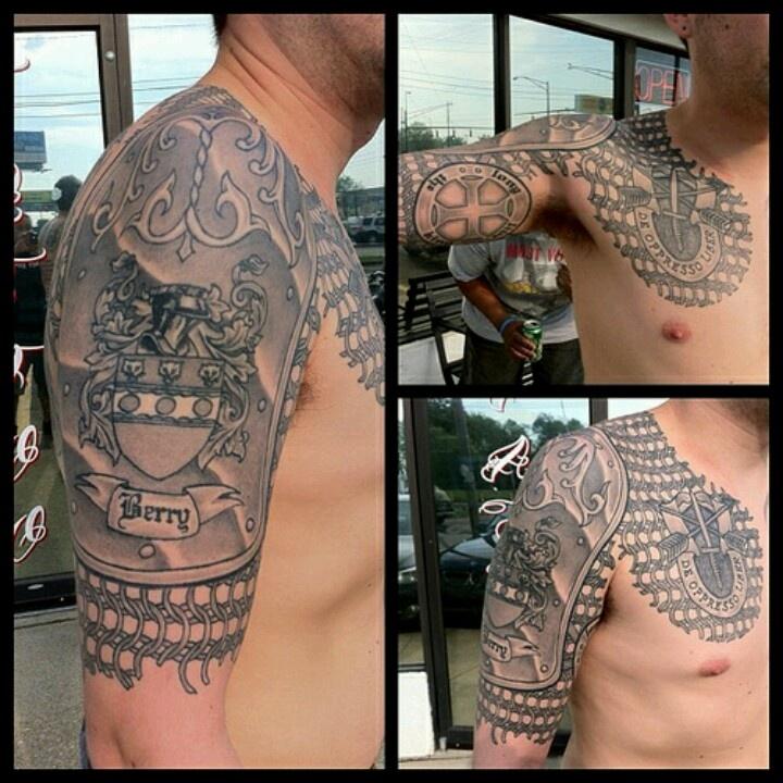 english coat of arms tattoo - photo #31