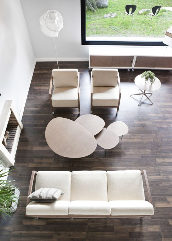 House in El Escorial (Madrid) furnished with the STUA collection.