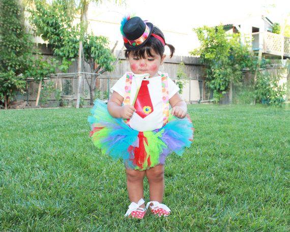 Custom Clown Carnival Tutu Costume Birthday Parties by pilycouture, $64.95