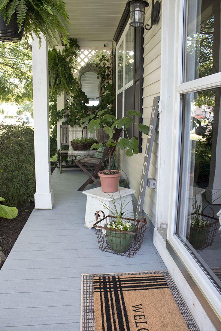 How to Paint A Porch Floor With Concrete Paint Porch